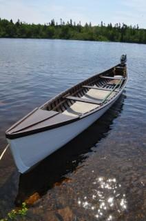 Gander River Boat in Glenwood, 2013