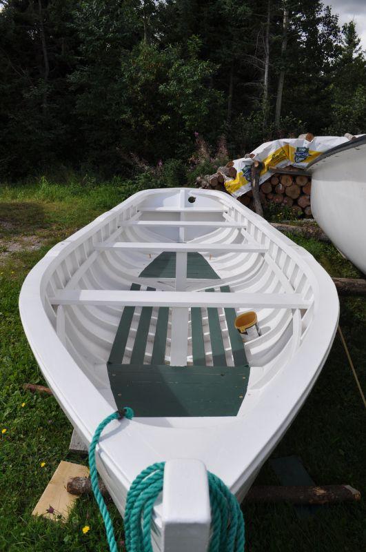 Punt built by Clyde Oram, Glovertown