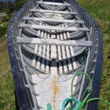 Punt built by Bill Rideout, Back Harbour, Twillingate
