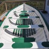 Punt built by Elmo Dorey, Black Island