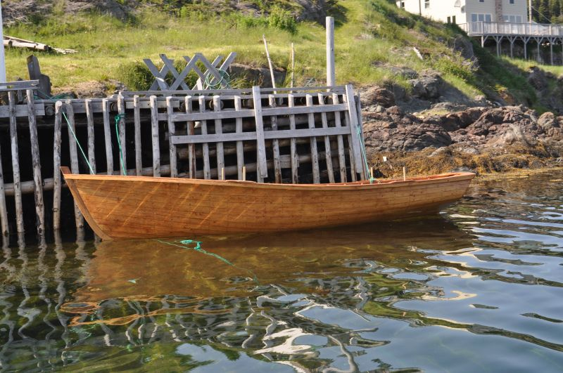 Built by Max Hussey, Herring Neck