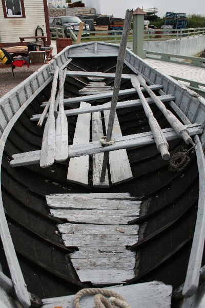 Gunning punt built by Thomas Head in 1906