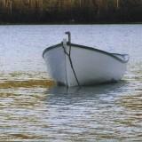Motor boat built by Max Pollard in 2009 in Pasadena